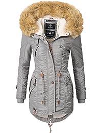 Navahoo Damen Winter Mantel Winterparka La Viva (Vegan Hergestellt) 11 Farben  XS-XXL a9404805b9