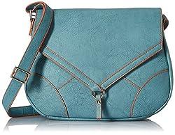 Baggit Women's Handbag (Blue)