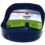 Super Pet Long John Bac à litière avec côté haut pour lapin et furet