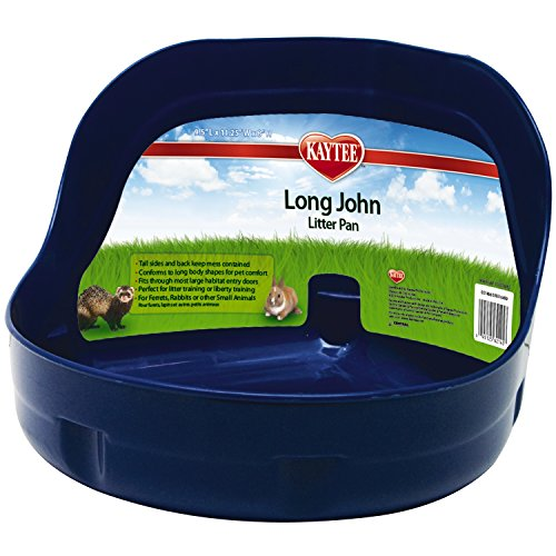 Super Pet Long John Bac à litière avec côté haut...