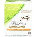 Azalea, Made With Organic Cotton Pads, Regular, 10 Ct