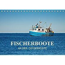 Fischerboote an der Ostseeküste (Tischkalender 2017 DIN A5 quer): Fotos von Fischerbooten an der Ostseeküste. (Monatskalender, 14 Seiten ) (CALVENDO Natur)