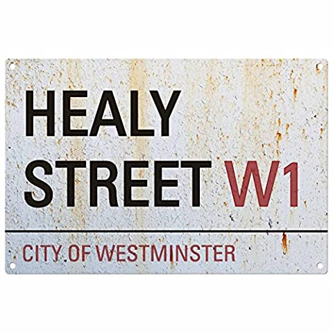 Personnalisée prénom Londres Road Sign: Healy