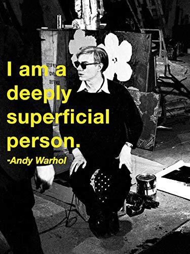 Andy Warhol - Superficial Póster Impresión Artística