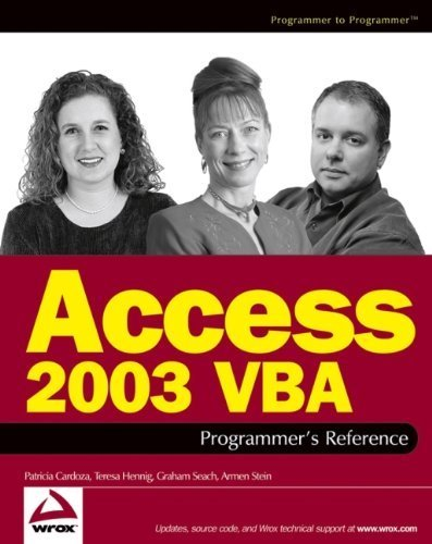 access-2003-vba-programmer-39-s-reference-1st-edition-by-cardoza-patricia-hennig-teresa-seach-graham-stein-arm-2004-paperback