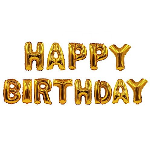 16 OFF On Sepco Happy Birthday Party Balloons Alphabet Letters Decoration Aluminum Foil Membrane Size 32 Amazon