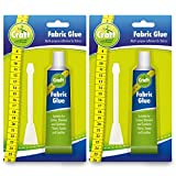 2pk Fabric Glue by Craft Central | Includes 2 Glue Spreaders and Ebook