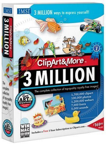IMSI Clipart & More: 3 Million International Edition (PC)