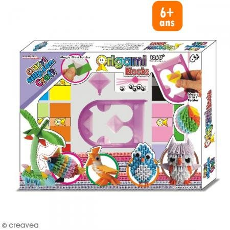 4260021286005 Ean Crazy Sillyn Craft Origami Blocks Deluxe Set