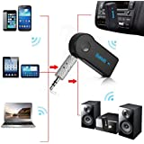 Everything Imported BT-310 Handsfree Bluetooth Stereo Adapter Audio Receiver 3.5Mm Music Wireless Hifi Dongle Transmitter Usb Mp3 Speaker Car wirelessly connect for iPhone or iPod touch to home stereo or stand-alone speakers (Get Free TTL/Trusttel mobile cover)
