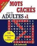 Telecharger Livres MOTS CACHES pour les ADULTES 1 (PDF,EPUB,MOBI) gratuits en Francaise