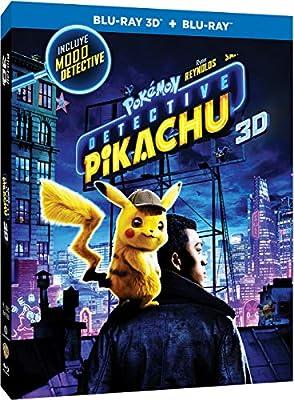 Pokémon: Detective Pikachu Blu-Ray 3d + 2d [Blu-ray] por Warner Bros. Entertainment
