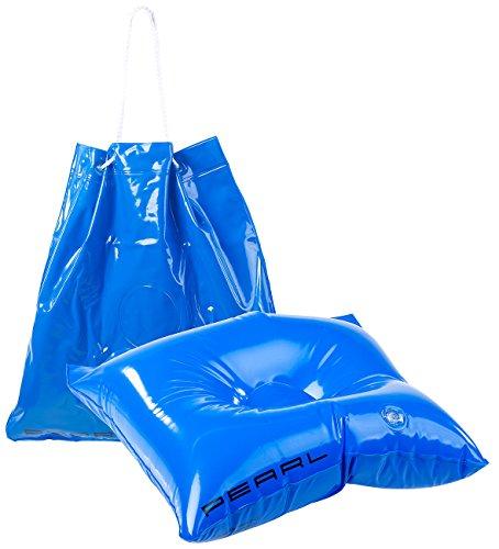 PEARL Handtasche: 2in1-Strandtasche und aufblasbares Schwimmkissen, 31 x 33 cm (Tasche und Kissen für Strandurlaub)