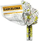 Crumpled City. Die cleveren Stadtpläne für Großstadtnomaden: Barcelona (Crumpled City Map)