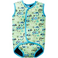 Splash About niños del Cuerpo Wrap, Infantil, Body, Green Gecko, Medium