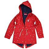 Derbe Kinder Softshell Jacke Lütten Island Dots Friese Kids rot - 152