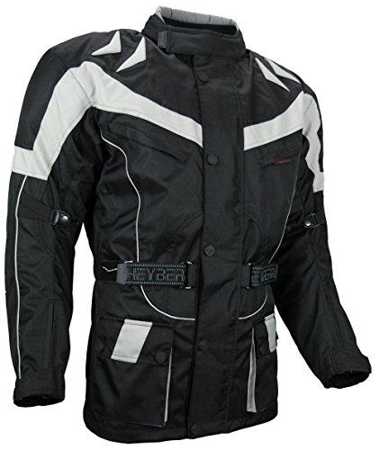 Motorrad Jacke Motorradjacke Tourenjacke Grau Gr. XL