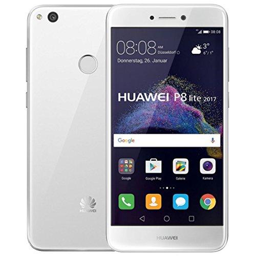 Huawei P8 Lite 2017 Smartphone, Memoria Interna da 16 GB, Bianco, Brand Vodafone