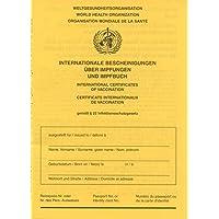 Internationale Bescheinigung über Impfungen und Impfbuch: Impfpass