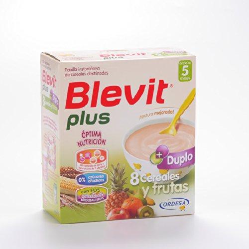 Blevit Plus Duplo 8Cereali E Frutta 600G