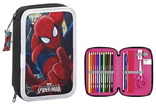 Spiderman- Estuche, ampUacutenica (SAFTA 411512054)