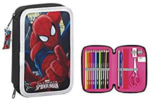 Spiderman- Estuche, ampUacutenica (SAFTA 411512054)