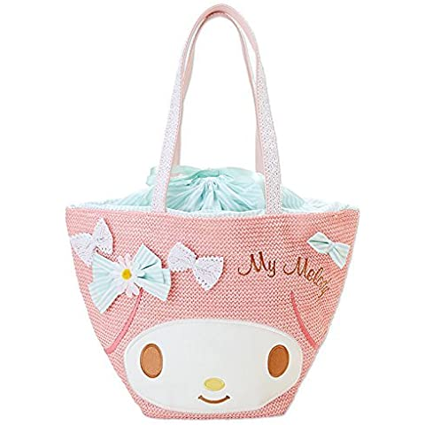 [My Melody] Tote bag Diecast basket style material by My Melody