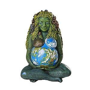 Estatua de Madre Tierra Gaia Milenaria de Oberon Zell 17 cm