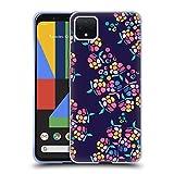 Head Case Designs Officiel Turnowsky Fleurs De Bouquet Fleurs Coque en Gel Doux Compatible avec Google Pixel 4 XL