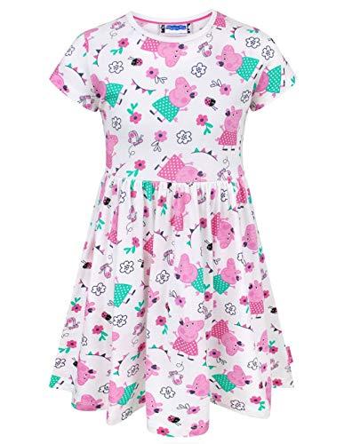 Peppa Pig Girl's Short Sleeved Dress (4-5 Years)