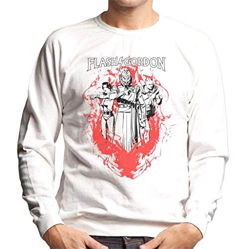 Comics Kingdom Flash Gordon Flame Trio Men's Sweatshirt -