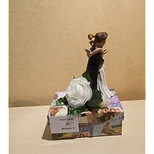 Geldgeschenk Hochzeit Brautpaar modern humorvoll