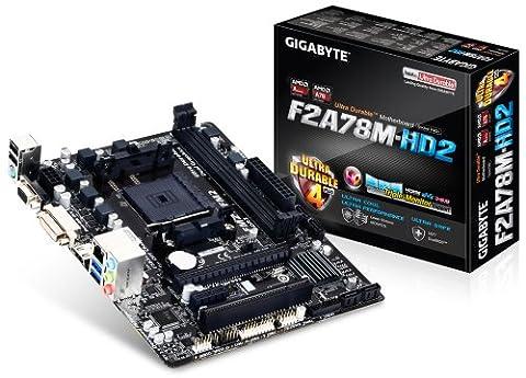 Gigabyte GA-F2A78M-HD2 Carte mère AMD Micro ATX Socket FM2+