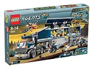 LEGO Agents 8635 Mission 6 Mobile Command Center: Amazon ...