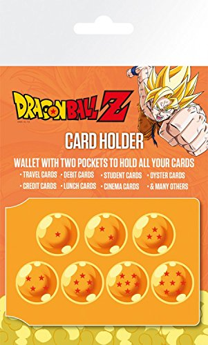Dragonball Z - Dragon Balls Tarjeteros para Tarjetas De Crédito (10 x 7cm)