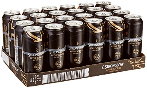 Strongbow Cider British Dry (24 x 0.5 l)