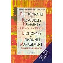 Dictionnaire des ressources humaines français-anglais, 2e édition