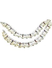 Inder Prince Jewellers Silver Color Alloy Anklets For Girls,IND10