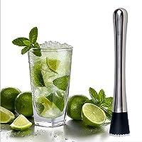 Samber Drink Muddler Cocktail&Lemon Muddler Stainless Steel Muddler Bar Tool Accessories