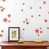 """The Art & Wood - Vinilo """"Estrellas"""". Adhesivo Decorativo. Decoración Hogar y Paredes."""