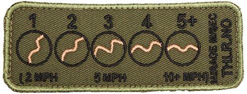 Vertebrae THLR Mirage Badge for Cheek Rest Vector 4-gauge