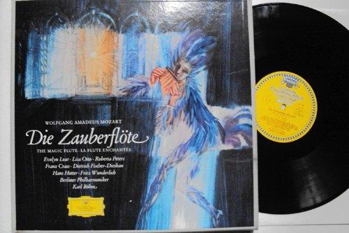 Die Zauberflöte - The Magic Flute. Karl Böhm, Lear, Otto, Peters, Crass, Fischer-Dieskau, Hotter, Wunderlich. Tulip Stereo Tulip Magic