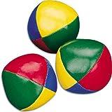 Oxforder Zirkus-Clown-Kugeln zum Jonglieren, bunt, 3er-Set