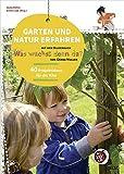 """Nikolo Projektheft - Garten und Natur erfahren mit """"Was wächst denn da?"""" (Projektideen)"""