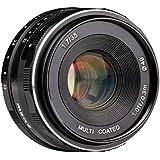 Meike 35mm F1.7Large Ouverture fixe non-zoom APS-C Objectif pour appareil photo Sony E Mont ildc Appareil photo sans miroir