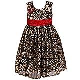 She Designs Girls' Dress (Sd_27_02_Black...