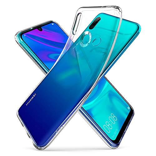 Spigen L40CS25950 Liquid Crystal Kompatibel mit Huawei P Smart 2019 Hülle/Honor 10 Lite Hülle, Transparent TPU Silikon Handyhülle Durchsichtige Schutzhülle Case Crystal Clear