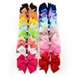 Oyedens 20PCS Big Bow Hairpins Hair C...
