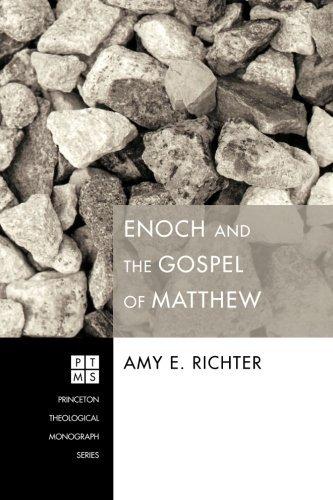 Portada del libro Enoch and the Gospel of Matthew: (Princeton Theological Monograph) by Amy E. Richter (2012-07-18)