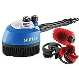 Nilfisk-ALTO Nilfisk - Ersatzbürstenköpfe für Staubsauger, für Hochdruckreiniger (Packung von 3 ), 128470459